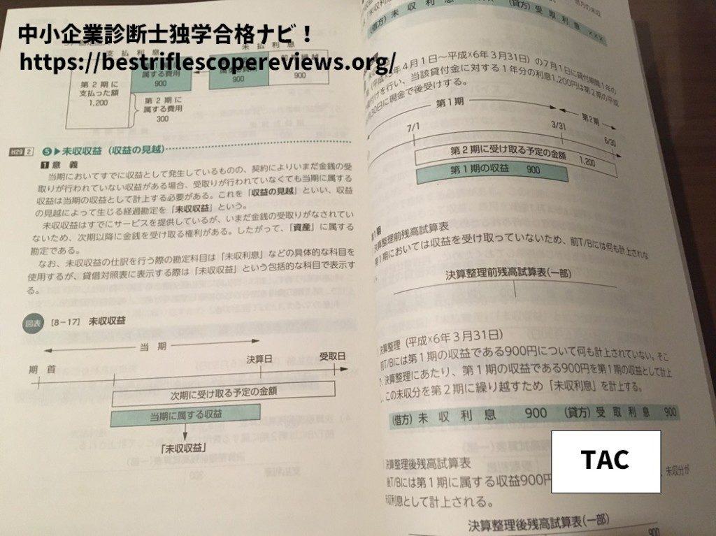 TACの中小企業診断士テキスト